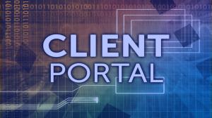 Horizon Client Portal button